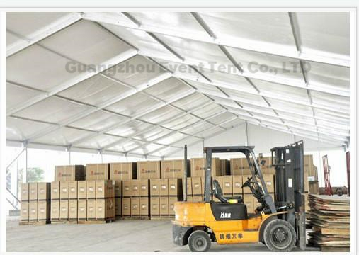 One Stop Outdoor Warehouse Tent aluminum tent With PVC Coated Polyester Fabric