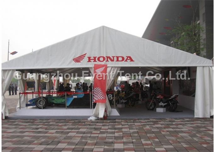 Auto Show Heavy Duty Canvas Tent Outdoor For Activity Trade Show Booth