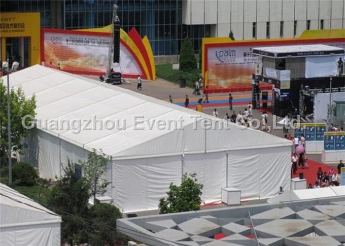 Strong Outdoor auto exhibition Marquee Fire Retardant, Large Party Tent on sales
