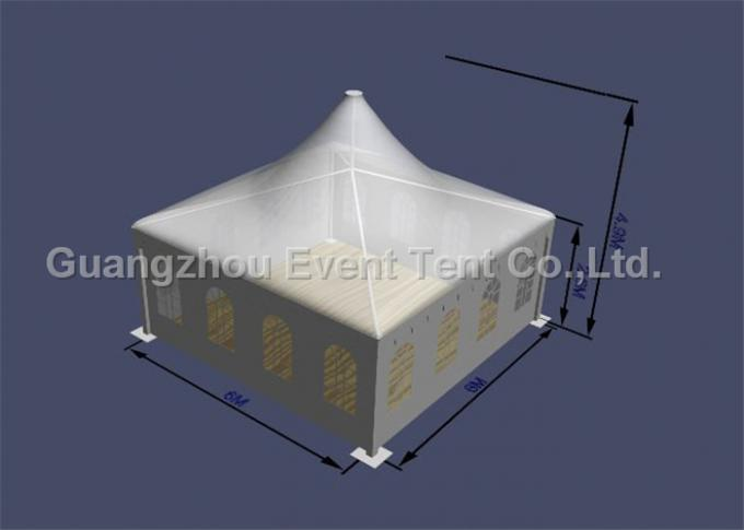 2016 fashion pavilion pagoda party tent for wedding event with decoration lining