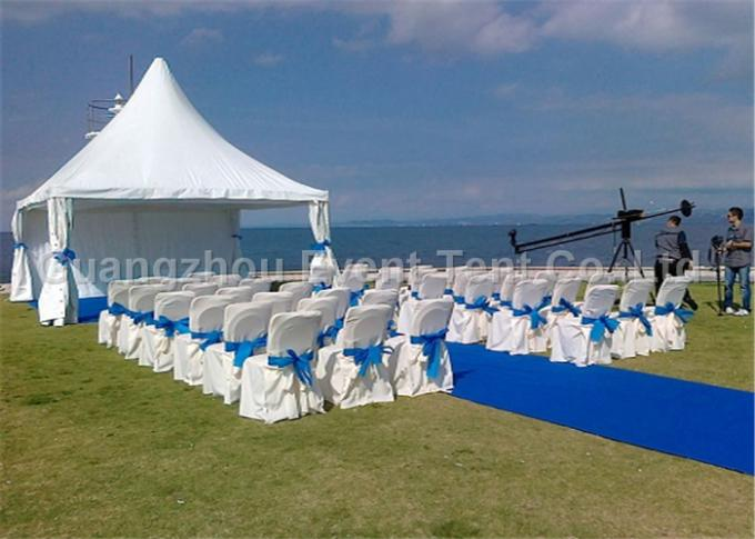 Quick Installation Large Outdoor Tent With PVC Coated Polyester Fabric Cover