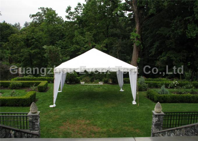 White Large Outdoor Tent Commercial Gazebo Heavy Duty ISO Certification for wedding