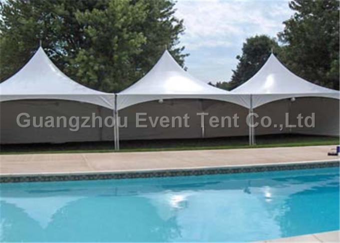 Glass Wall Custom Event Tents Leisure Entertainment For 50 Peoples 8 X 8m Size