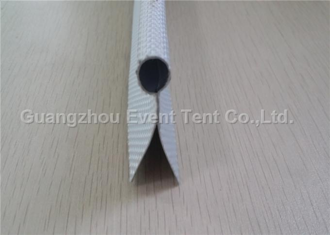 550gsm PVC fabric 35mm double flap keder tent accessories for tent