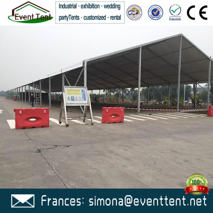 Immense A Frame Tent 2016 New Style warehouse marquees for Car Storage / Emergency