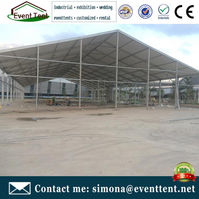 Large A Frame Tent Party Tent Aluminum Frame Material With Floor System SGS