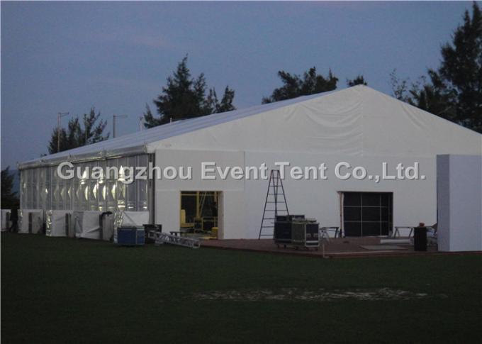 Aluminum Profile Second Hand Camping Tent For Outdoor Warehouse 35 x 50m