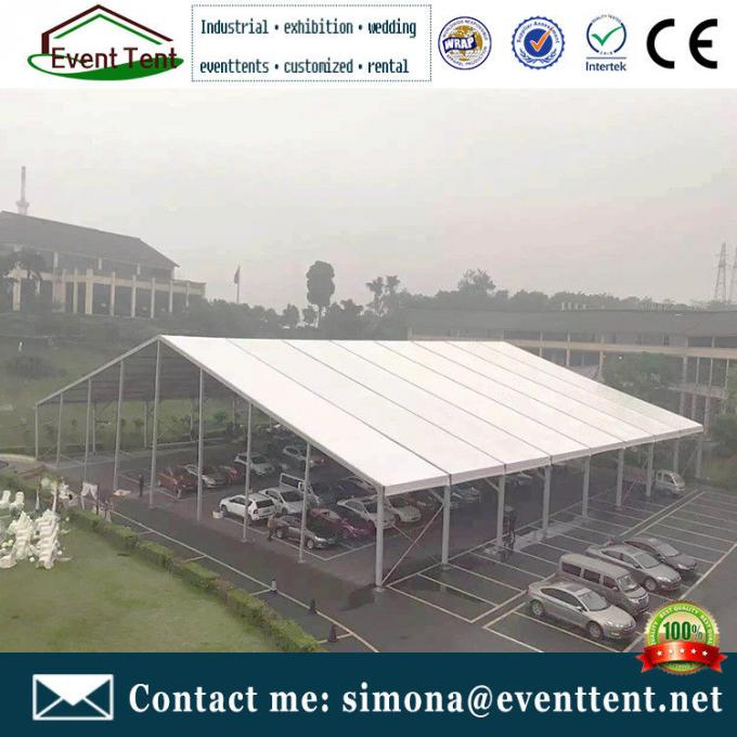 Clear Span Fabric Structures A Frame Tent 50m For Conference Event ISO