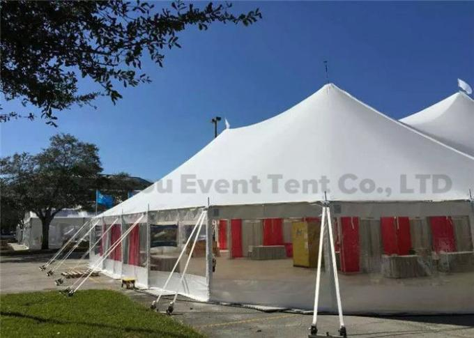 Pop Up Canopy Tent With Aluminum Frame , Second Hand Camping Tents Windproof