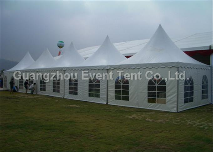 stretch tents 8x8m luxury wedding pagoda party tent for wedding and events in china