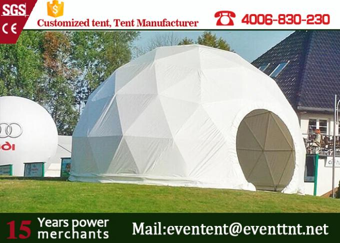 Large elegant transparent geodesic dome tent camping tent for outdoor events