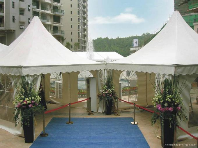 Luxury Aluminium Pagoda Party Tent  Yurt For Events 84mmx48mmx3mm