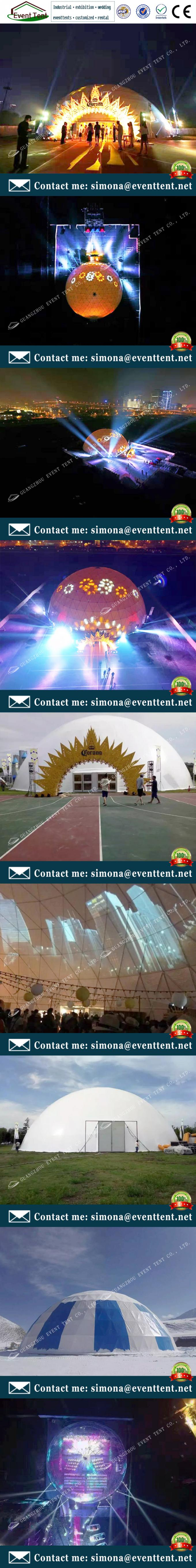 Eco-Friendly Modern Inflatable Large Dome Tent Sturctural Wedding Party Tents