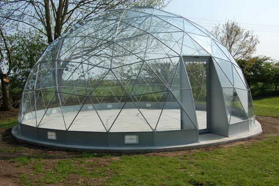 Commercial Outdoor Glass Geodesic Large Dome Tent For