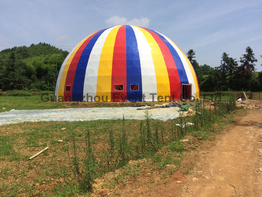 China Structure Stability Heavy Duty Outdoor Tent , Garden Dome Greenhouse Color Optional supplier