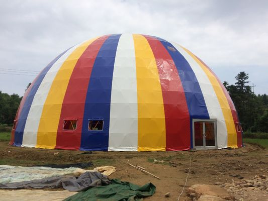 China 21m  waterproof  customized large dome tent for sports events supplier