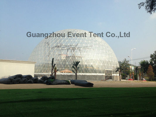 China gander mountain 40m diameter large geodesic dome tent for festival event supplier