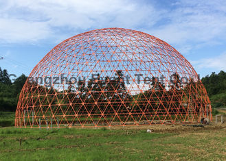 China Mixed Color  Large Dome Tent Steel Frame Material For Business Advertisement supplier