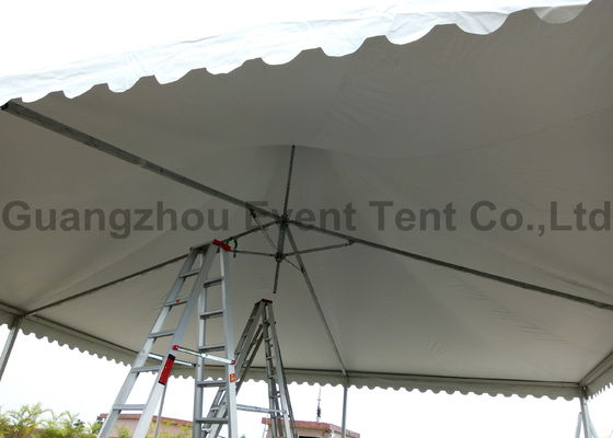 China 10x10m aluminum frame pagoda party tent for wedding party events supplier