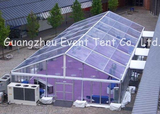 China Professional Clear Top Party Tent , Customized Outdoor Tent With Clear Roof supplier