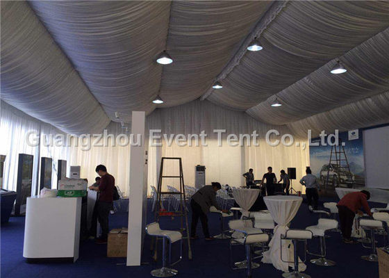 China 3.95m Large Outdoor Tent Automobile Trade Show With Strength Structure Aluminum supplier