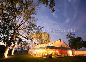 China Large Luxury Clear Span Tent For Commercial Event Exhibition Free Design Service supplier