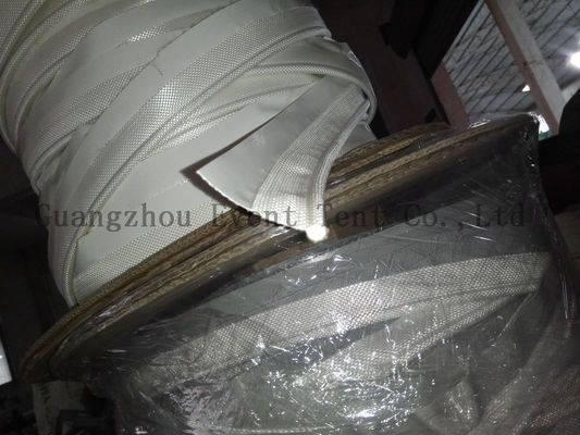 China High Frequency Welding Tent Trailer Parts , Tent Pole Accessories 550gsm PVC Fabric supplier