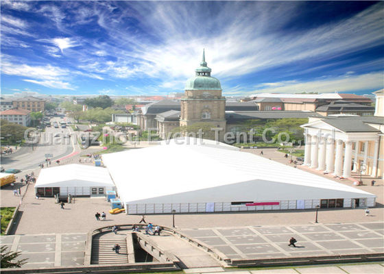 Large Outdoor Tents For Parties Church Curtains Decoration PVC Coated Polyster Fabric