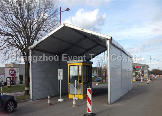 China Clear Roof Camping Tent Waterproof , Wedding Venues With Marquees White PVC Fabric supplier