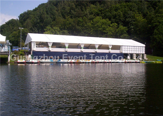 China Luxury Family Tent With White PVC Roof , Heavy Duty Pop Up Marquee Tear Resistant supplier