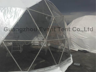 China White Customized Luxury Camping Tent European Style For Outdoor Hotel 7m Diameter supplier