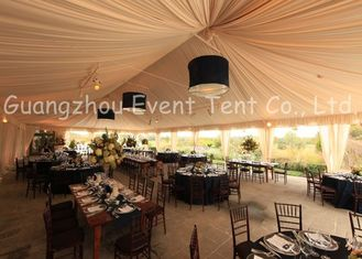 China Fancy Large Outdoor Tent Durable With  Fast Set Up Installation Accessories Optional supplier