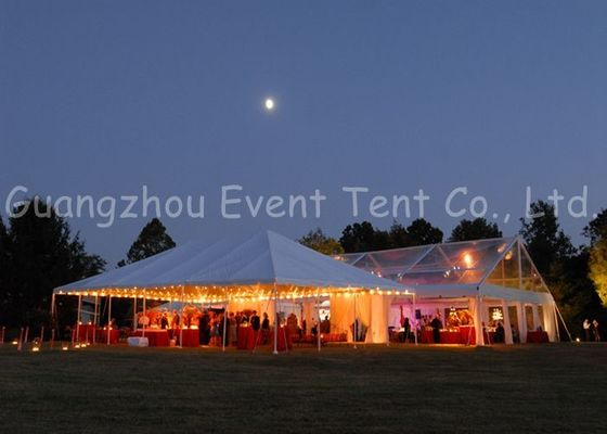 China Prefab Clear Span Tent  Modern Luxury Decoration For Festival / Buffet Dinner supplier