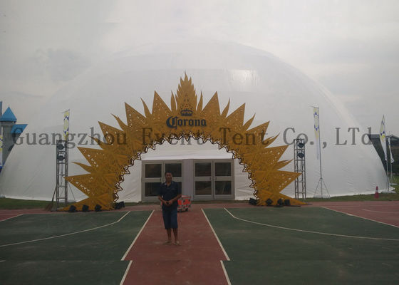 China All Sizes Brand Custom Commercial Party Tents With Steel Frame Material 5m ~ 80 M Diameter supplier