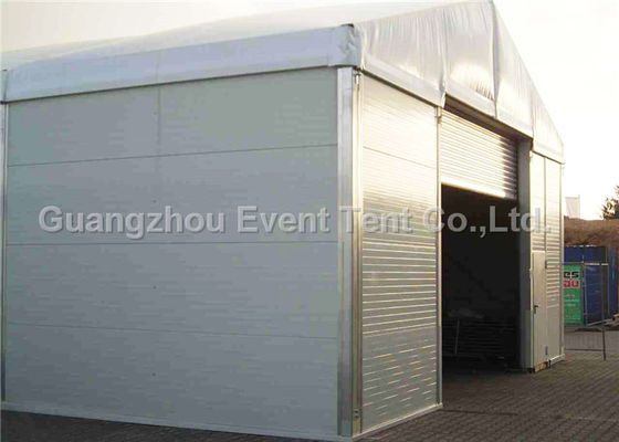 China Temporary Storage Structures For Workshop / Industrial Storage Tent With Waterproof Cover supplier