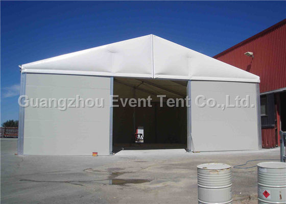 China One Stop Permanent Storage Outdoor Warehouse Tent With Expansion Screws / Big Steel Nails supplier