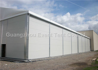 China Folding Aluminum Roof Gazebo , Clear Span Fabric Structures For Gymnasium supplier