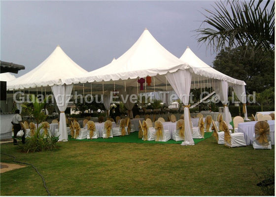 China Easy Up  Pagoda Party Tent Self - Cleaning With Wedding Decorations 10 X 10 Meter supplier