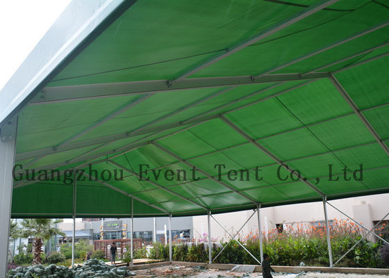 China UV Resistance High Peak Tent Pop Up Canopy PVC Coated Fabric For Wedding Party supplier