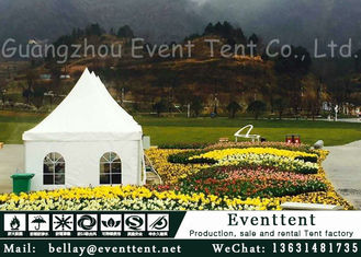 China Luxury Wedding Marquee For Garden Party Aluminum Alloy Frame UV Resistant supplier
