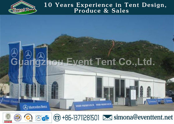 China Auto Show Heavy Duty Canvas Tent Outdoor For Activity Trade Show Booth supplier