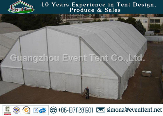 China Aluminum Arch Commercial Canopy Tent Transparent For Gymnasium / Trade Show supplier