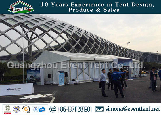 China Large Outdoor Tent Automobile Trade Show With Strength Structure Aluminum supplier