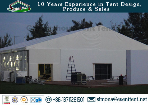 China Custom Giant Inflatable Transparent Tent , Outdoor Greenhouse Tent Waterproof supplier