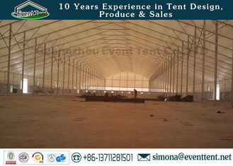 China Modern Design Heavy Duty Garage Tent Tear Resistant With Aluminum Frame Material supplier