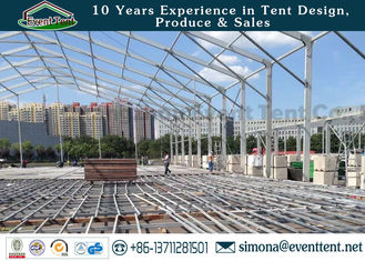 China Outdoor Warehouse Tent Waterproof Luxury Hotel Collapsible Kit With Clear Roof supplier