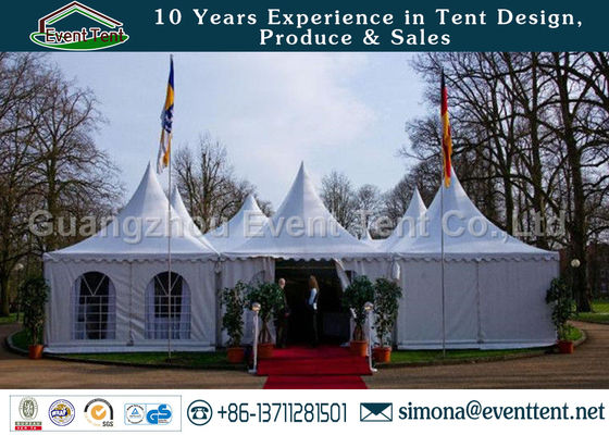 China Transparent Large Outdoor Tent Commercial Gazebo Heavy Duty ISO Certification supplier
