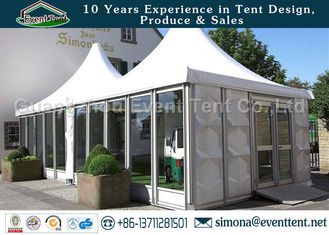 China Large Outdoor Tent Prefabricated Hotel Building Mobile House For Catering supplier