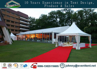 large size aluminum frame waterproof wedding party tent with windows