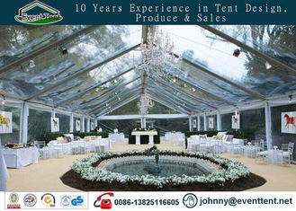 easy install & disassemble UV resistant wedding party tent with floor
